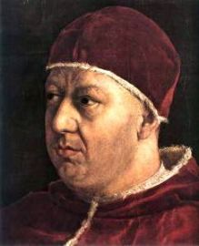pope leo x portrait