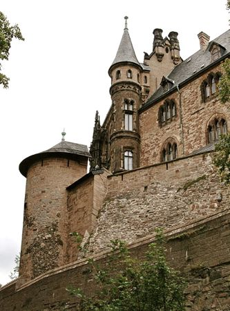 wernigerode castle, harz mountains