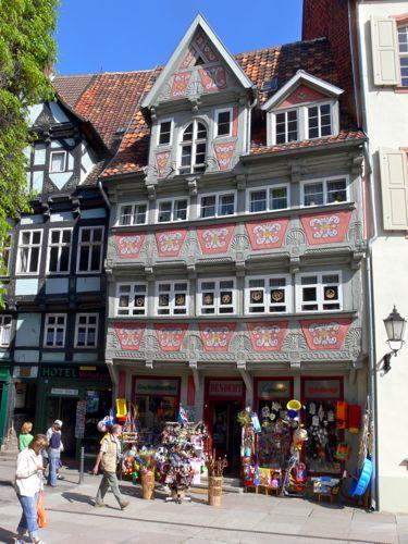 pretty house, breite strasse, quedlinburg