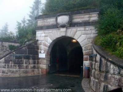 eagles nest germany, tunnel entrance