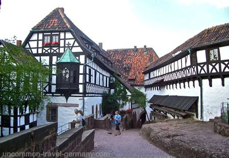 inner courtyard, wartburg castle