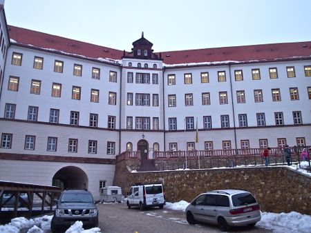 colditz castle garrison, youth hostel and music academy