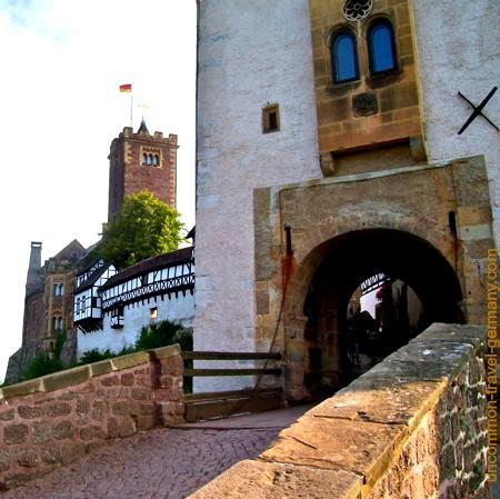 main gateway, wartburg castle