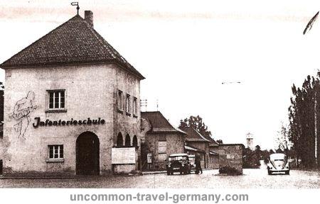 stalag 13c, main gate, historical photo