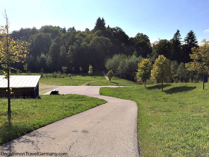 Path to Hitler's Berghof, Obersalzberg