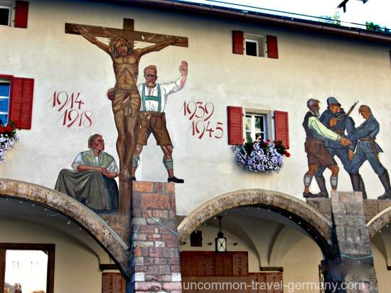 berchtesgaden germany, war mural