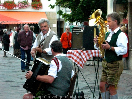 berchtesgaden germany, brass band