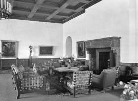 hitlers berghof, great room, 1936
