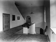 landing at top of stairs, inside berghof