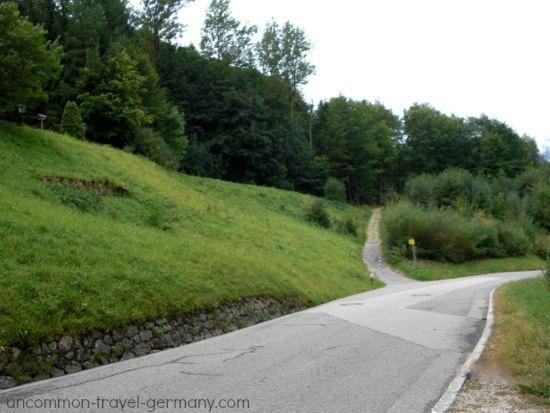 path to berghof ruins