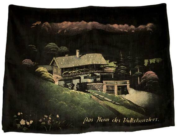 haus wachenfeld painting, pillowcase