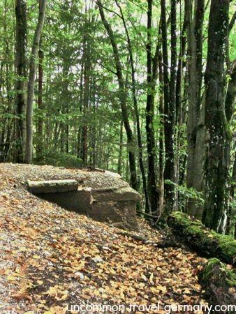 underground shaft, berghof ruins