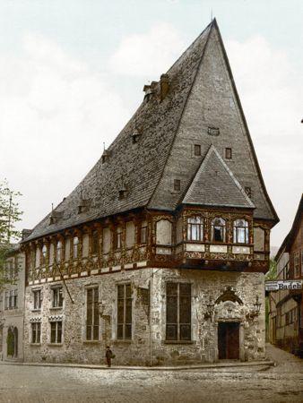 brusttuch hotel, goslar, 1900