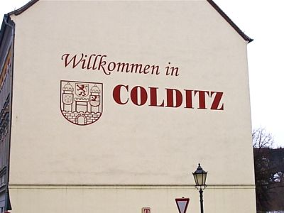 welcome to colditz sign