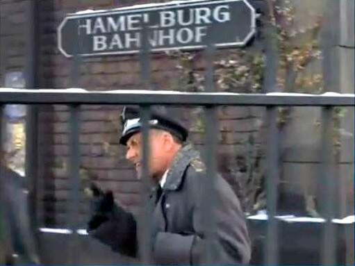 colonel klink, hammelburg bahnhof