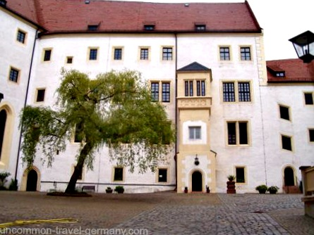 colditz castle courtyard