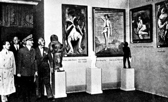 degerate art exhibit
