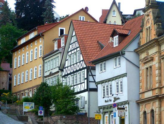 eisenach houses, pfarrberg