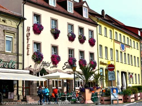stadtcafe hotel, hammelburg