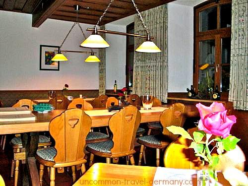 gasthof zum engel restaurant, hammelburg