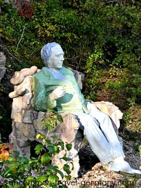 mystery man statue, hammelburg