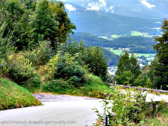 driveway hitlers berghof, obersalzberg