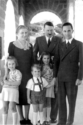 hitler and goebbels family, visit to hitlers eagles nest