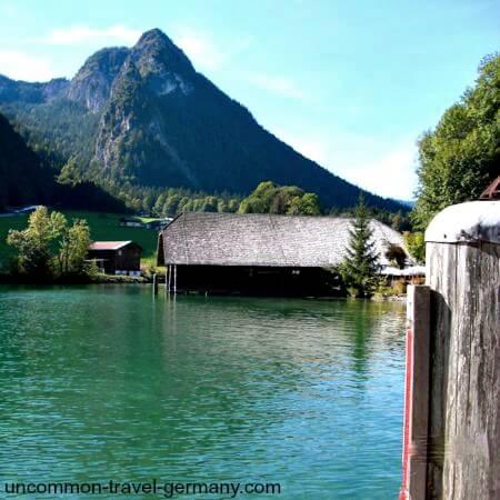 konigssee, berchtesgaden, boat dock