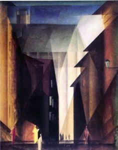lyonel feininger, barfusserkirche 1924