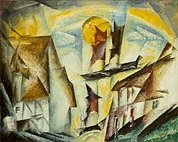 lyonel feininger, harbor at neppermin