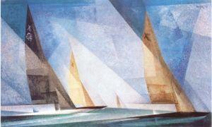 lyonel feininger, sail boats