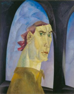 lyonel feininger, self-portrait