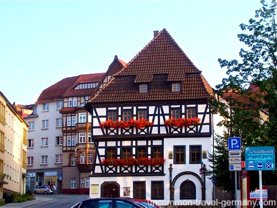 martin luthers house, eisenach