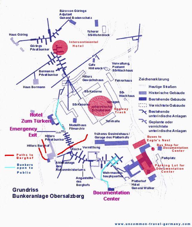 obersalzberg, nazi bunkers