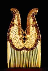 jeweled comb, quedlinburg treasure