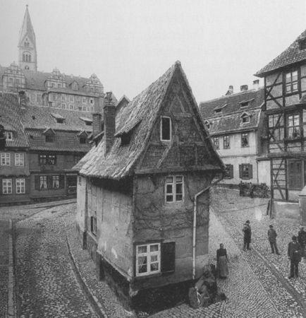 finkenherd house, quedlinburg, 1900