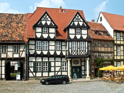 klopstocks house, quedlinburg, harz