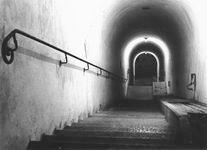 stairs to hitlers bunker in berghof