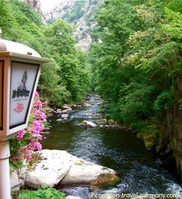 bode river, thale, harz
