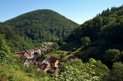 zorge, village in harz mountains, village