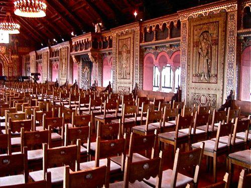 festsaal, wartburg castle