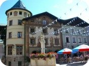 berchtesgaden germany, markt, fountain