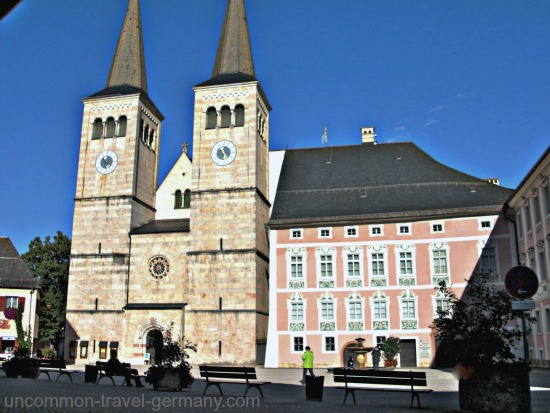 berchtesgaden germany, schloss, church