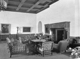 hitlers berghof, great room, 1936