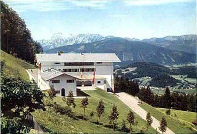 hitler's berghof, obersalzberg, bavarian alps, 1936