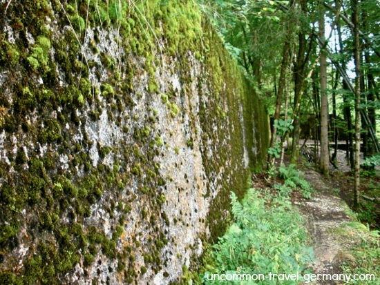 rear wall of berghof today, obersalzberg