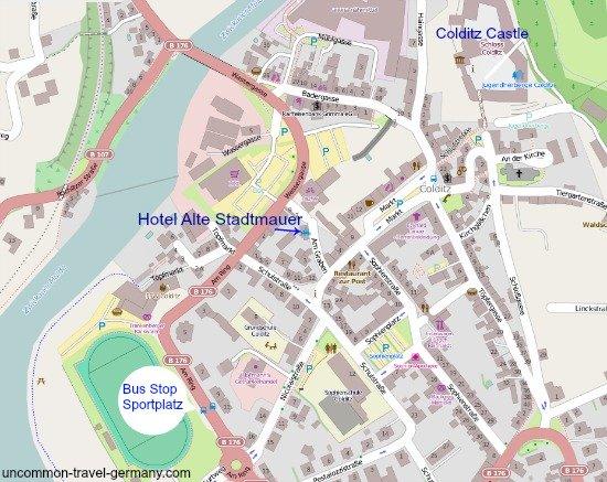 colditz town map