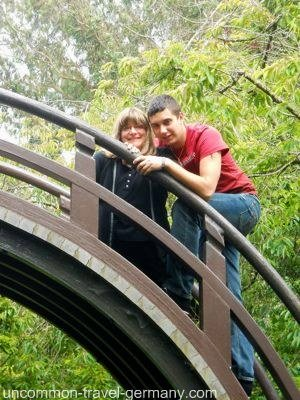 drum bridge, japanese tea garden, san francisco