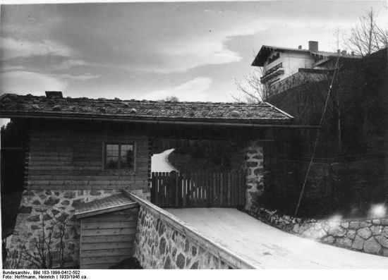 guard house below the berghof