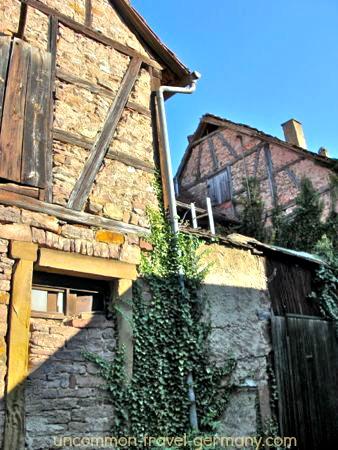 fachwerk houses, hammelburg